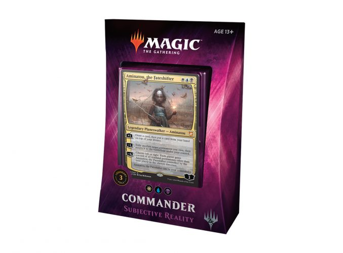 Magic the Gathering Commander: Subjective reality