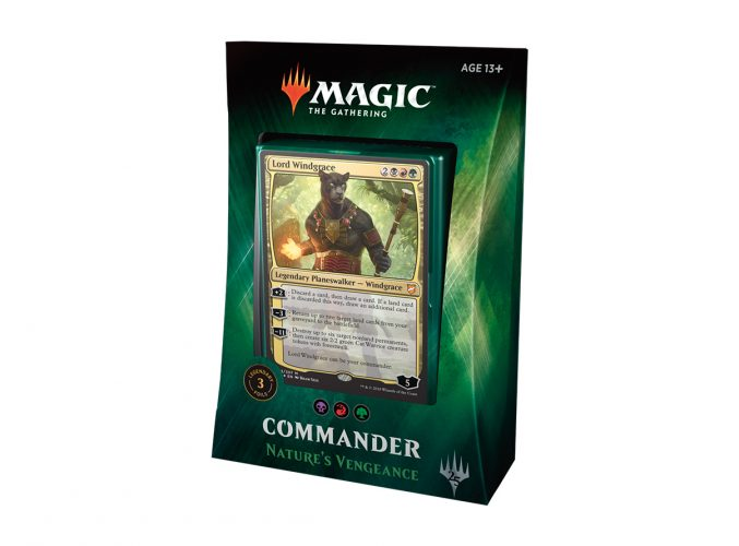 Magic the Gathering Commander: Nature's Vengeance